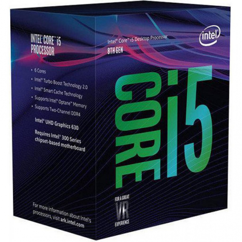 INTEL Core i5-8600K 3,50GHz LGA1151 9MB Cache Boxed CPU