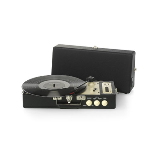 Ricatech Vintage Turntable Black