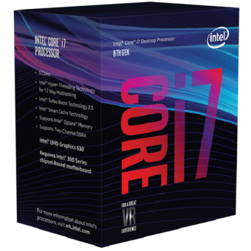 INTEL Core i7-8700 3,20GHz LGA1151 12MB Cache Boxed CPU
