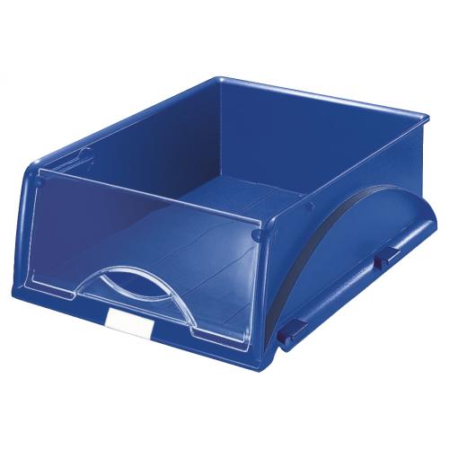 Leitz Sorty A4 sininen lajittelija läpinäkyvä etukansi