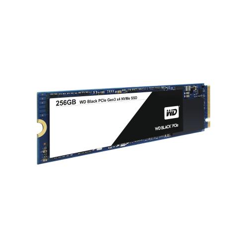 WD Black SSD PCIe 256GB High-Performance NVMe SSD Bulk