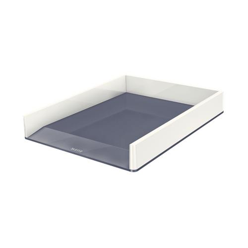 LEITZ lomakelaatikko wow dual väri metalli helmenvalkoinen (4kpl/ltk)
