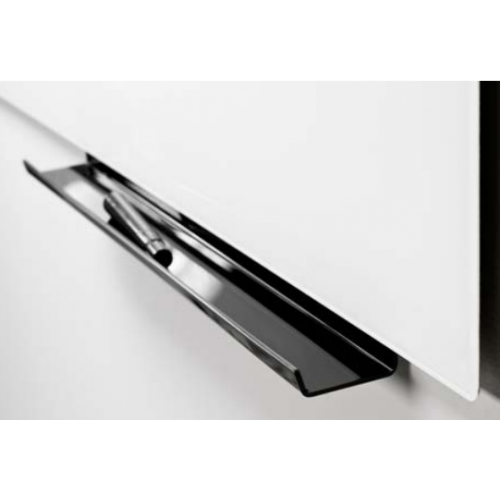 Lintex kynähylly, plexi musta 500mm lasitauluihin