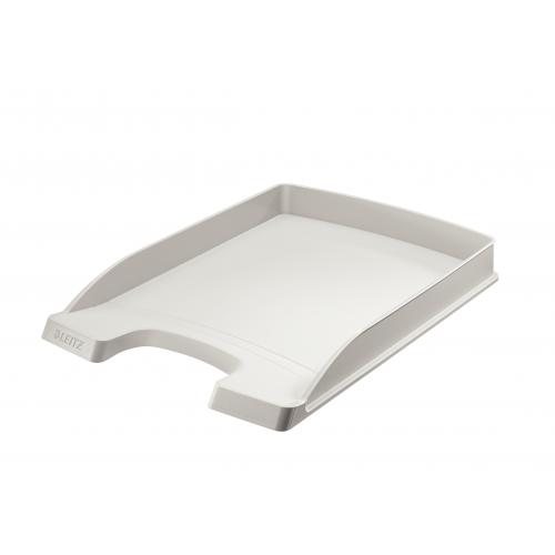 LEITZ Plus Slim lomakelaatikko A4 harmaa