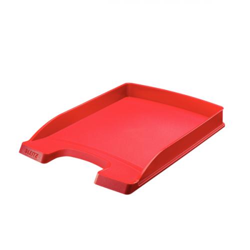 LEITZ Plus Slim lomakelaatikko A4 punainen