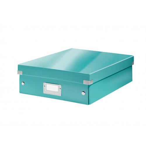 LEITZ Click Store lokerikkolaatikko jäänsininen ″M″