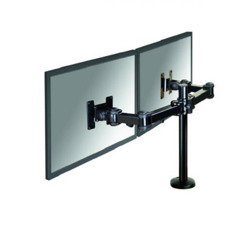 NEWSTAR Flatscreen Desk Mount grommet 10-27inch Black
