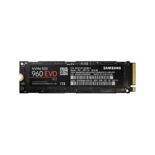 Samsung 1TB 960 EVO SSD -levy, M.2, NVMe, 3200 1900 MB s