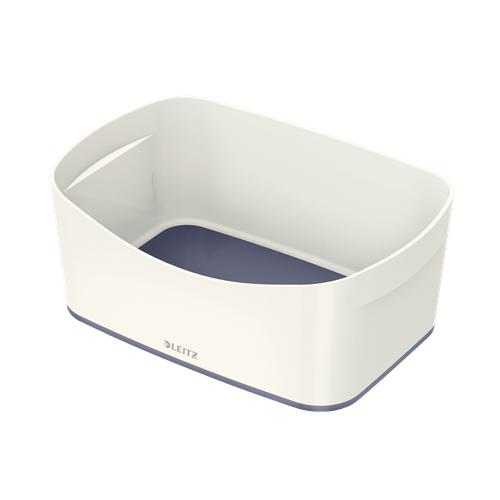 LEITZ MyBox säilytyslaatikko valkoinen/harmaa