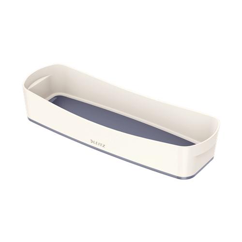 LEITZ MyBox säilytyskaukalo long valkoinen/harmaa