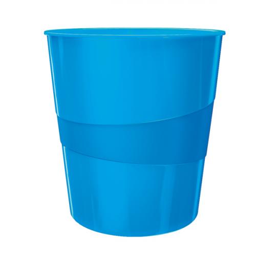 LEITZ Wow paperikori 15L sininen