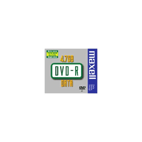 MAXELL DVD-R levy 16x, Data Video 10mm jewelcase 5kpl pkt