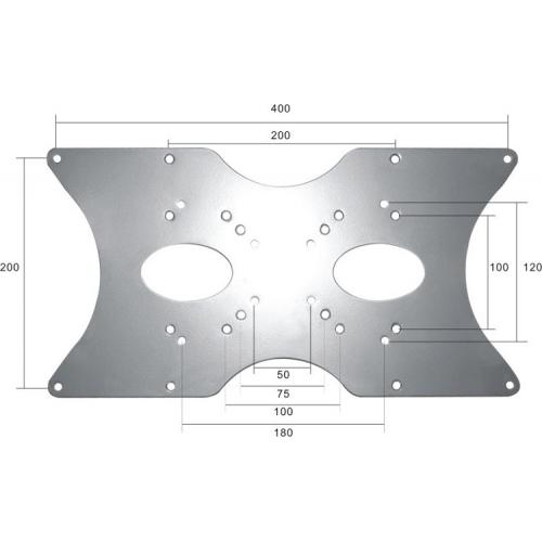 NEWSTAR VESA Conversion Plate VESA 75/100 200x100 200x200 400x200 400x400