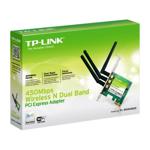 TP-LINK TL-WDN4800 Sisäinen WLAN 450Mbit/s PCI Express verkkokortti