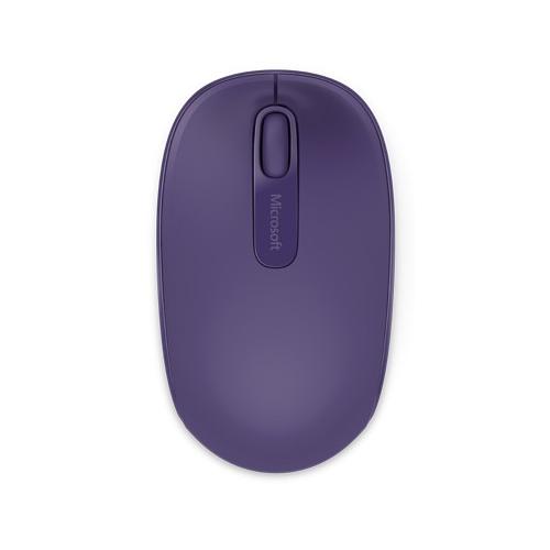 Microsoft Wireless Mobile Mouse 1850 ‐hiiri, purppura