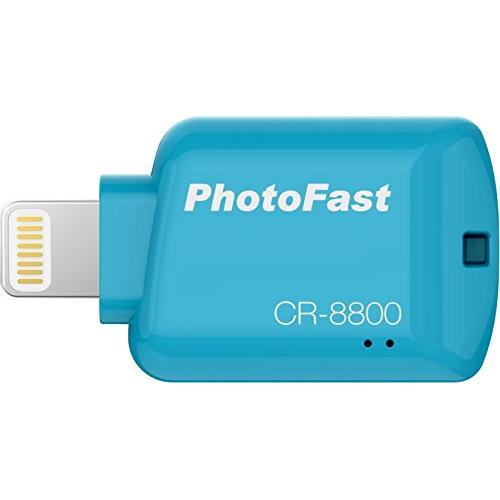 PhotoFast CR-8800 iOS Card Reader Blue