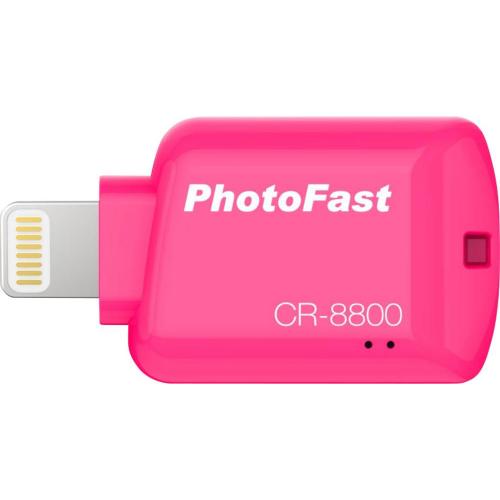 PhotoFast CR-8800/iOS Card Reader Red