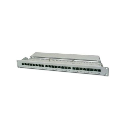 Digitus 19″ 24-port Patch Panel CAT6 Unshielded 1U