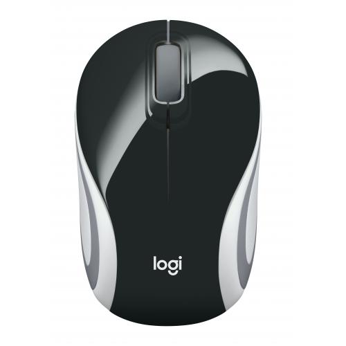 LOGITECH M187 wireless mini mouse BLACK