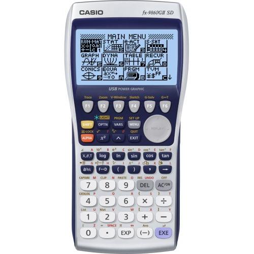 CASIO FX-9860 G Slim ohjelmoitava graafinen laskin