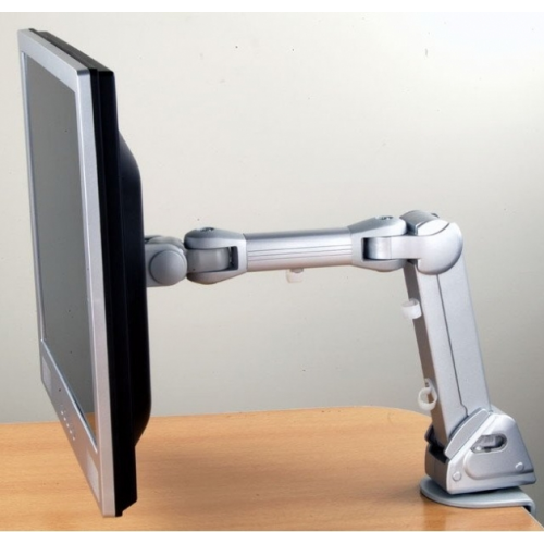 LCD-monitorivarsi kaasujousella, kolminivelinen varsi, näyttö käännettävissä pysty/vaaka