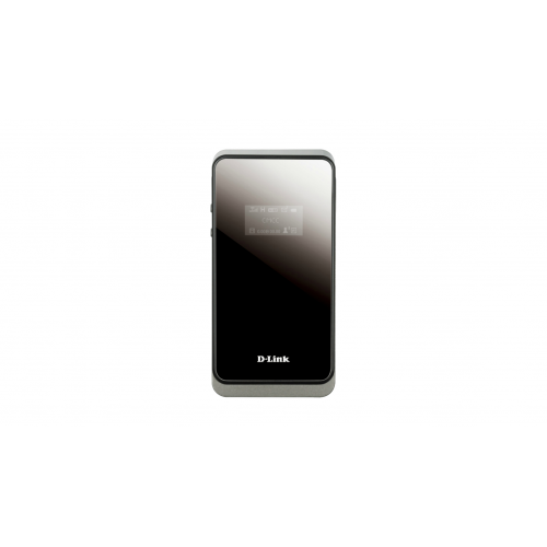 D-Link DWR-730 HSPA+ 21 Mbps Mobile Router 3G-WLAN-reititin, paristokäyttöinen, musta hopea