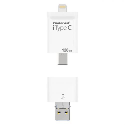 PhotoFast iType-C 4-in-1 128GB FlashDrive