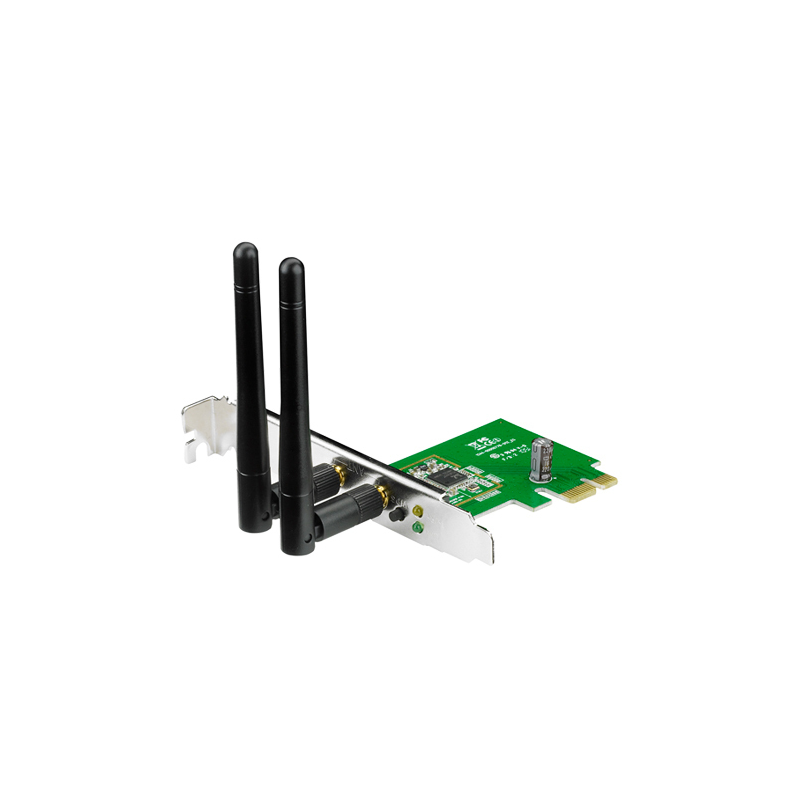 ASUS PCE-N15 Wireless PCI-E card 802.11n 300Mbps LP