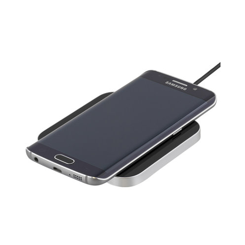 Wireless Charger F1 - Induktiivinen latausalusta USB-liitännällä, Qi-tekniikka, musta