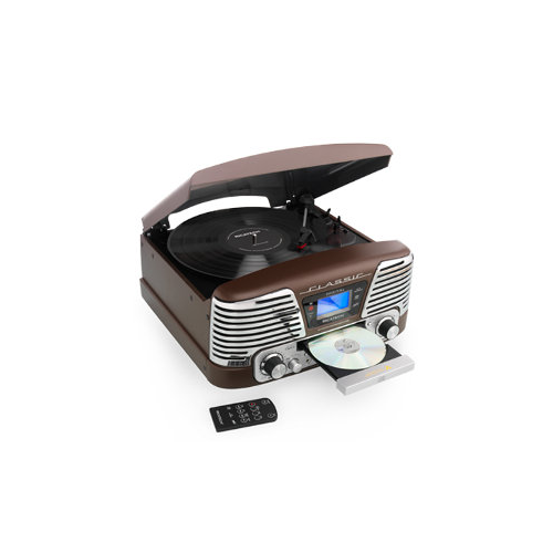 Ricatech RMC160 5 in 1 Classic Music Center Brow