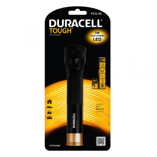 Duracell Tough FCS-10 Taskulamppu 134 lm