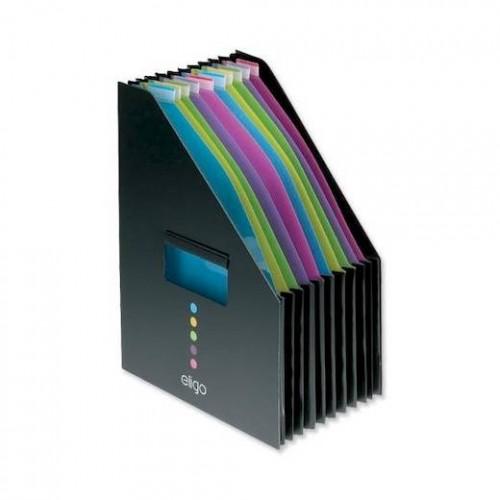 Desk Expander -lajittelija pysty haitarimalli 13-osainen