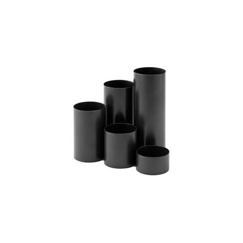 JALEMA kynäpurkki musta kierrätysmateriaali 5-os.