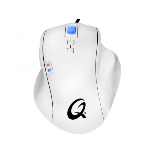 QPAD OM-75 Pro Gaming Optical Mouse, White