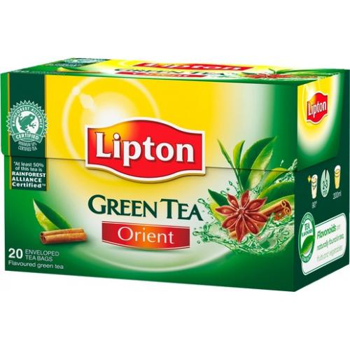LIPTON Clear Green Orient tee 20pss/pkt