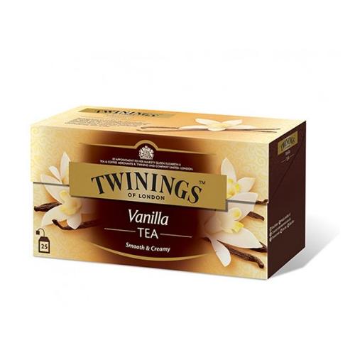 TWININGS Vanilla tee 25pss/pkt
