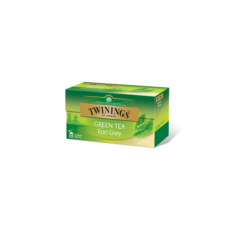 Twinings Vihreä Earl Grey tee 25pss/pkt