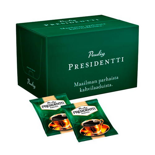 Presidentti HJ tumma paahto 44x100g kahvi