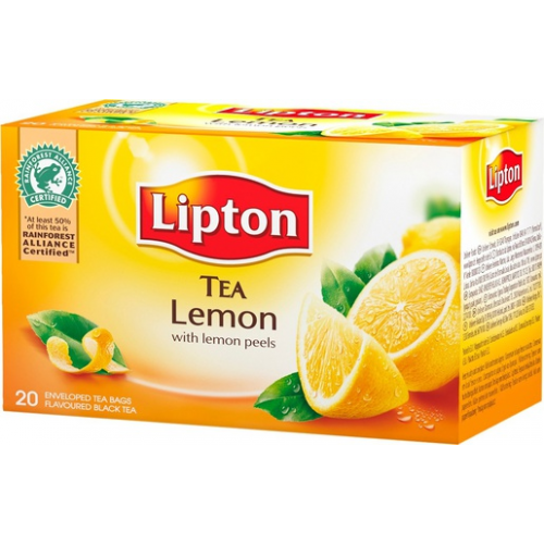 LIPTON sitruuna tee 20pss/pkt