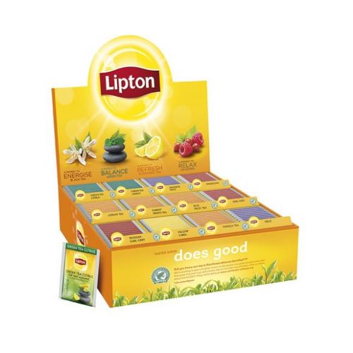 LIPTON tee 180pss lajitelmapakkaus, 12 makua