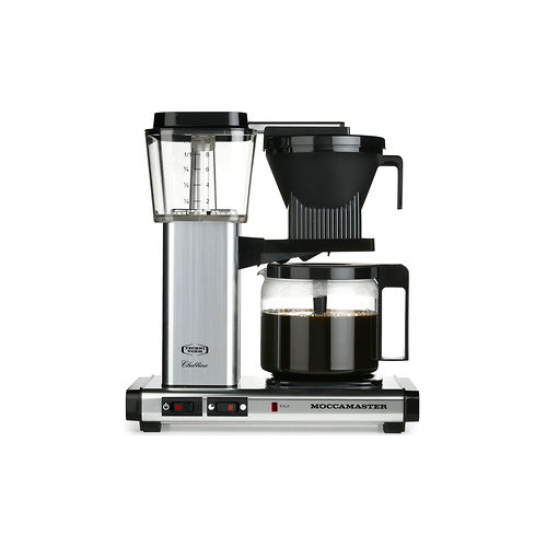 Moccamaster KBGC972AO kahvinkeitin 1,25l hopea-musta