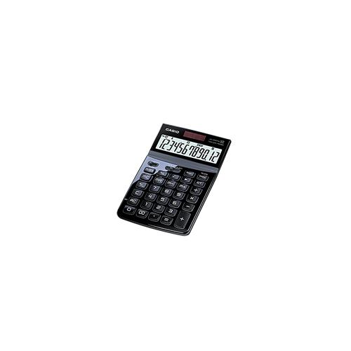 CASIO JW-200SC-BK design pöytälaskin 12-numeroinen musta