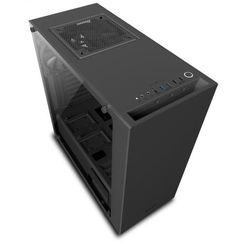 NZXT Source 340 Elite Midi Tower - Black