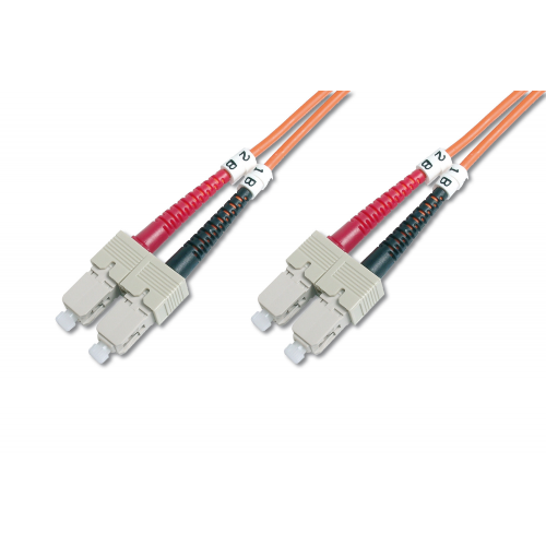 Digitus DK-2622-10 Fiber Optic Patch Cable SC-SC Multimode Duplex 10m