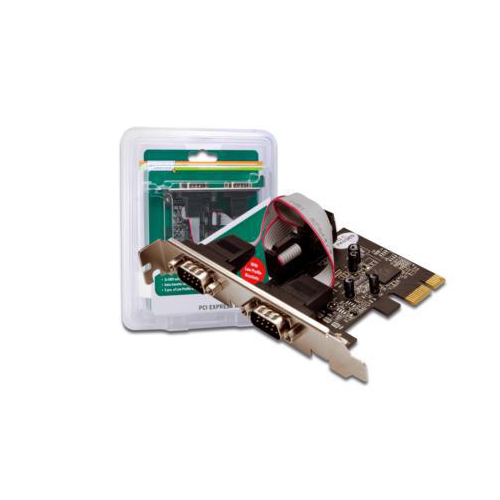 Digitus DS-30001 2-port Serial RS232 PCI-E Card