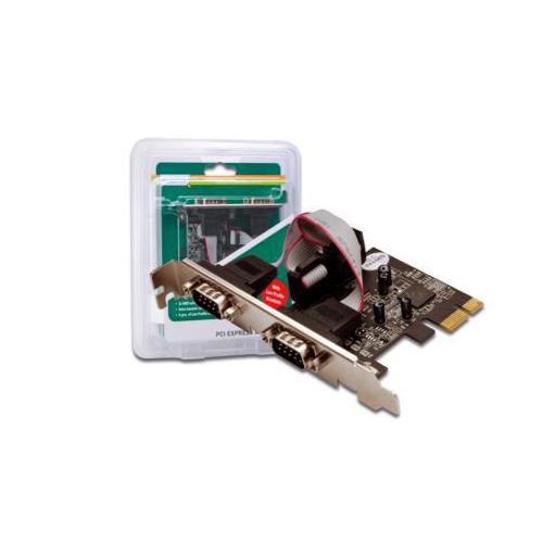 Digitus DS-30001 2-port Serial RS232 PCI-E Card