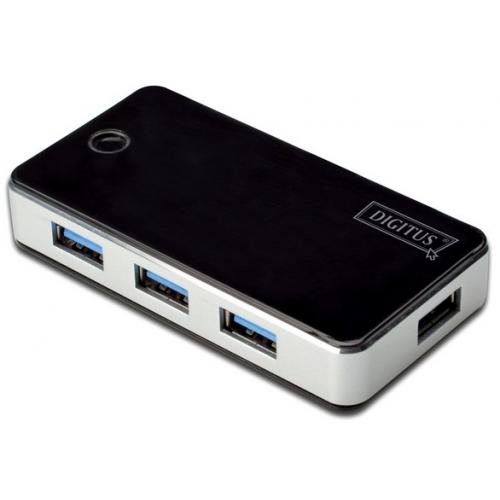 Digitus 4-port USB3.0 Hub with External PSU