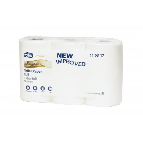 TORK Premium WC-paperi valkoinen 42rll/säkki