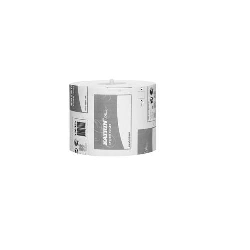 KATRIN Plus System wc-paperi 2-krs valkoinen 36rll/laatikko