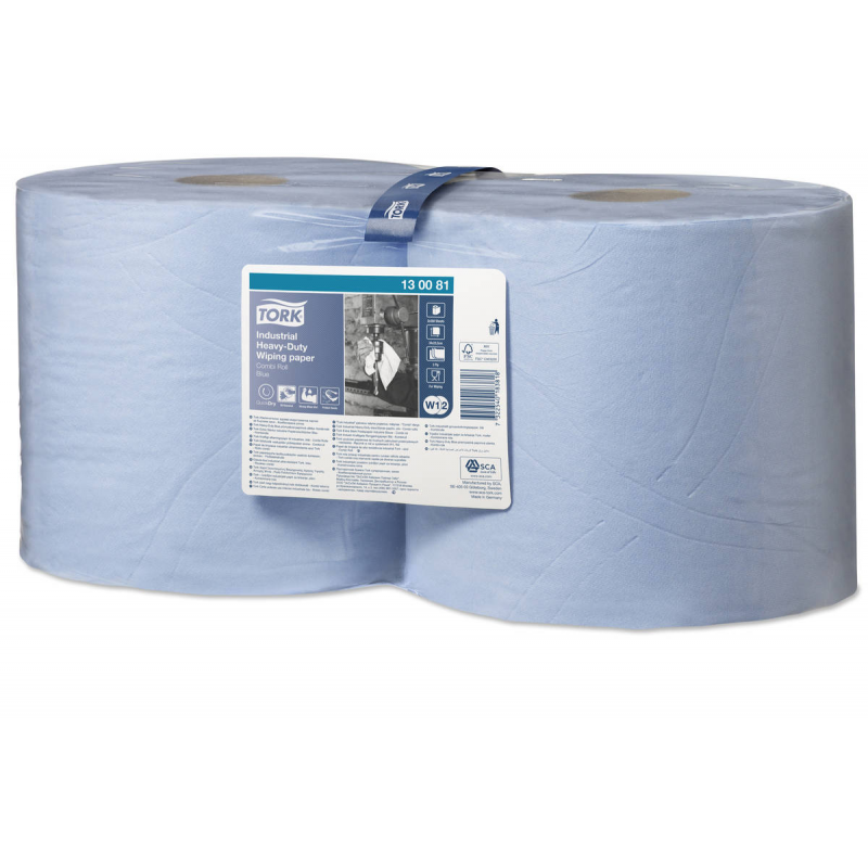 TORK Premium teollisuuspuhdistuspaperi sininen 2rll/säkki